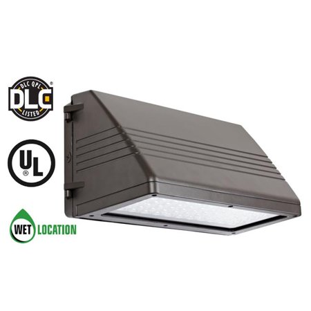 TriGlow T89015 90 LED Full Cuttoff Wall Pack - 100-277V, 9500 Lumens, 5000K Daylight White, Outdoor Light Fixture, UL Listed & DLC Approved - image 1 of 1