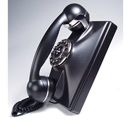 Basic Corded Telephone - telematrix retro wall black (catalog category: corded telephones / basic telephones)