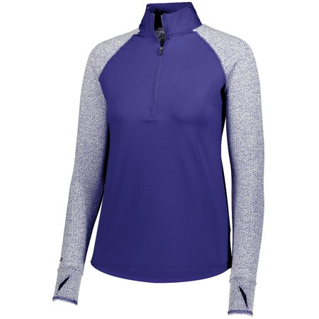 Holloway Ladies Axis 1/2 Zip Pullover Pu/Puhr 3Xl - image 1 de 1