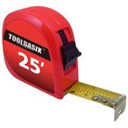 Toolbasix 62-7.5X25-R Rule Tape, 25 ft L x 1 in W per 24 EA