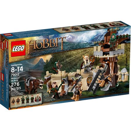 LEGO The Hobbit: The Desolation of Smaug Mirkwood Elf Army Play