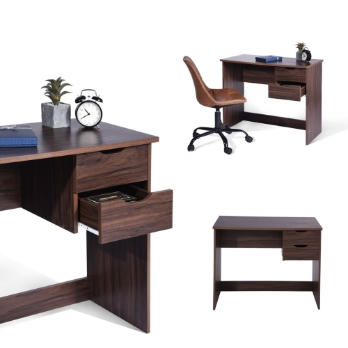 Walmart Home Store: ZF Collections Serenity Home Office Wooden Writing Desk