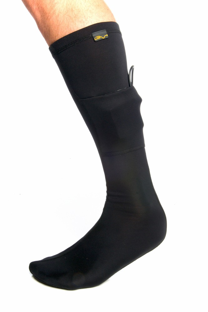 Volt 3v Heated Sock Liner-Black, Large by Heated Socks