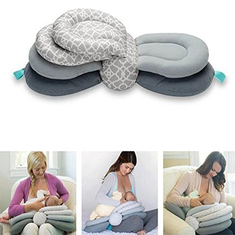 Infantino Adjustable Nursing Breastfeeding Pillow For Baby Newborn Baby Multifunction Pillow Pillow Infant... by Topboutique