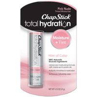 ChapStick Total Hydration Tinted Moisturizer Lip Balm, Pink Nude