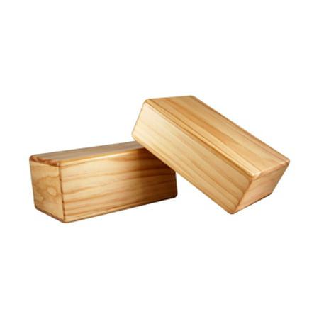 Yoga Direct Wood Block 4 Inch