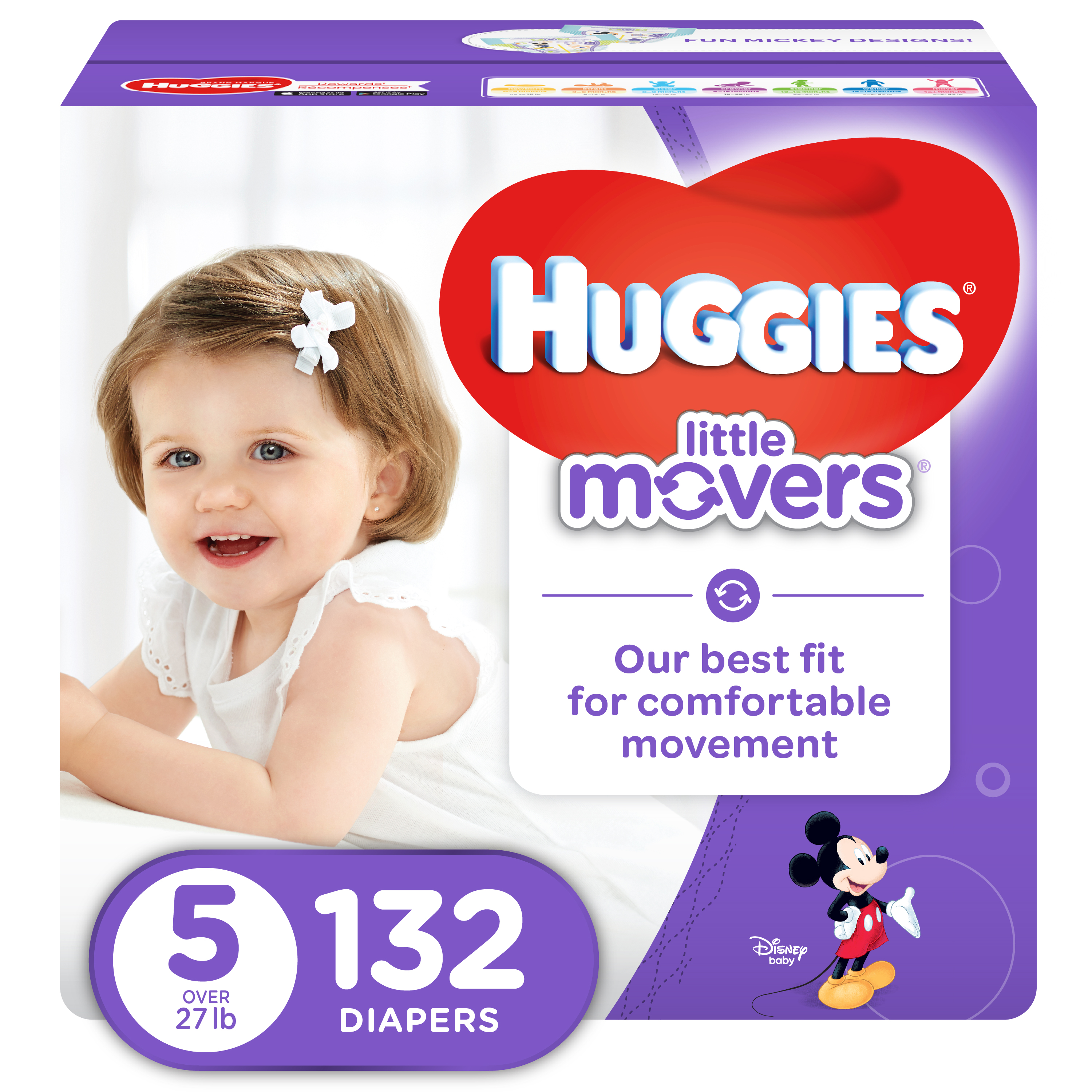 Image result for huggies little movers