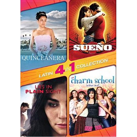 4 in 1 Latin Collection: Sueno / Quinceanera / Lies in Plain Sight / Charm School