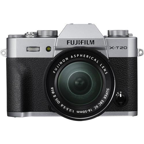 X-T20 Kit w/ 16-50mm Lens - Silver
