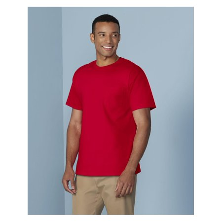 T-Shirts Heavy Cotton T-Shirt with a Pocket (Heavy Cotton Pocket T-shirt)