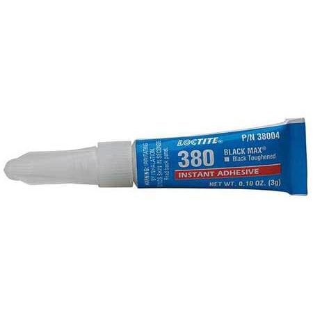 Loctite 38004 3g Tube Instant Adhesive, Black