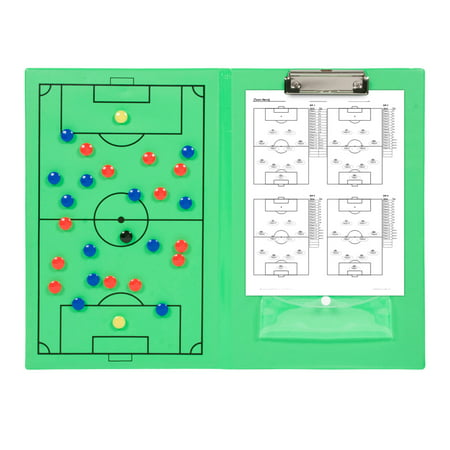 Soccer Coaching Accessories (Magnetic Soccer Clipboard - Erasable White Board - Great For Coaches By Simply)