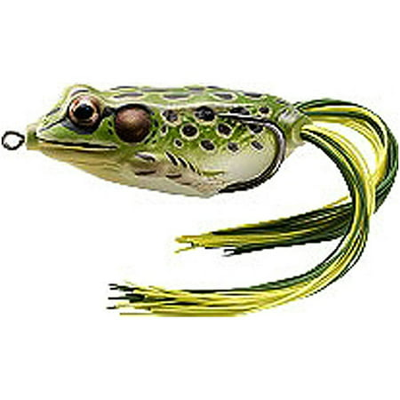 Koppers Hollow Belly Frog  3 4 Oz  Green Yellow