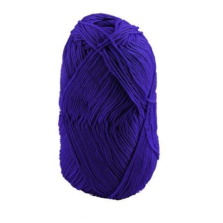 Cotton Clothing Hand Knit Sweaters - Cotton Hand DIY Knitting Clothes Hat Sweater Crochet Thread 50 Gram Dark Blue