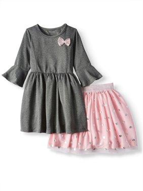 286950fb08b2 Gray Girls Dresses   Rompers - Walmart.com
