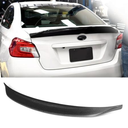 For Subaru Impreza WRX 2015-2018 Rear Carbon Fiber Duckbill Style Trunk Spoiler (Carbon Fiber Drive Shaft)