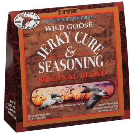 Hi Mountain Seasonings Wild Goose Original Blend Jerky Cure & Seasoning Kit, 7.2 -