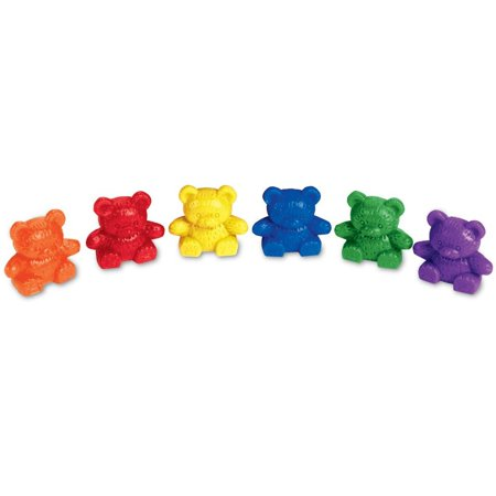 Learning Resources Baby Bear Counters, 102 Pieces, 6 Colors](Learning Resources Inc)