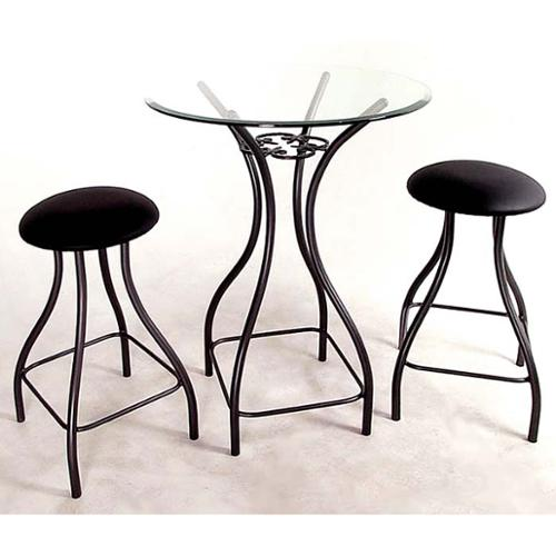 Contempo Bistro / Bar Tables Base (42 in. in Antique Bronze)