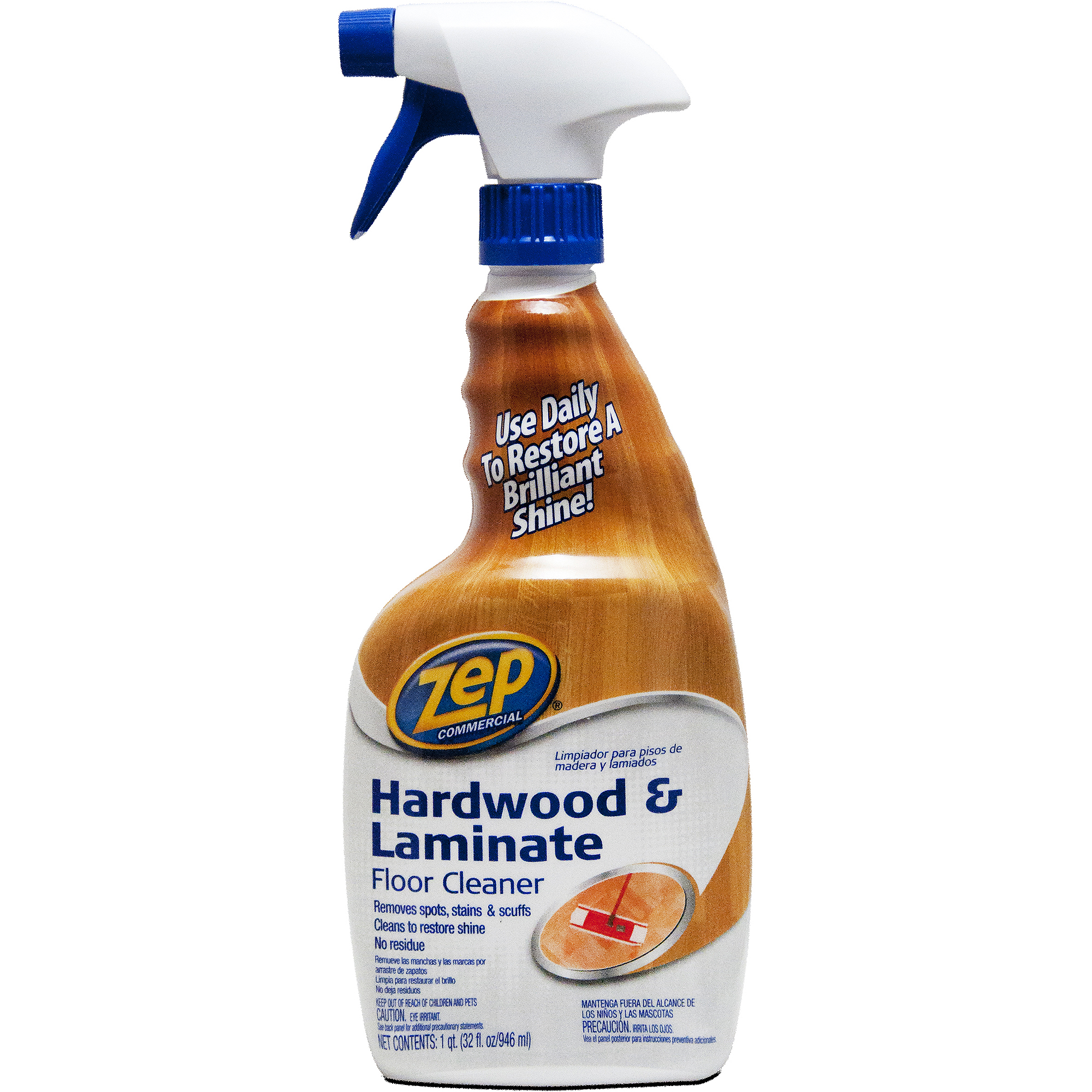 Zep Commercial Hardwood Floor Cleaner, 32 Oz