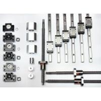 "4' x 4' Feet CNC Router Kit 16mm Rail Guideway System and Ball Screws XYZ Travel 48"" x 48"" x 10"" Inch"