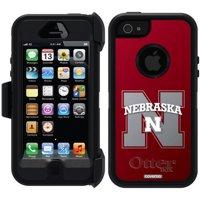 Nebraska Watermark Design on OtterBox Defender Series Case for Apple iPhone 5/5s