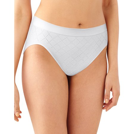 Womens Comfort Revolution Seamless Hi Cut Panty