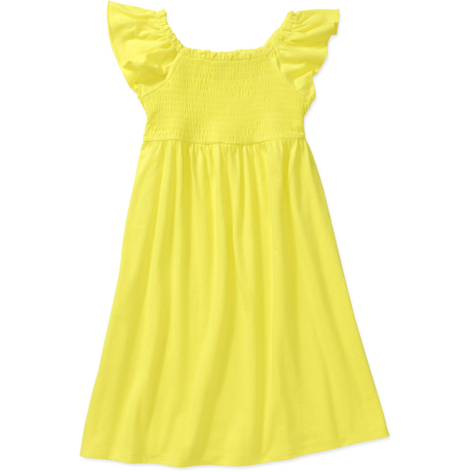 Faded Glory Girl Smocked Dress
