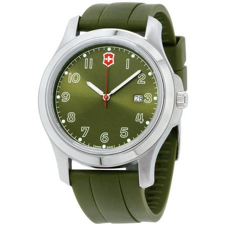Swiss Army Men's Garrison Elegance Date Polyurethane Watch - Swiss Army Watch