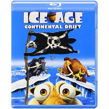 Ice Age 4: Continental Drift (Blu-ray + DVD + Digital Copy)