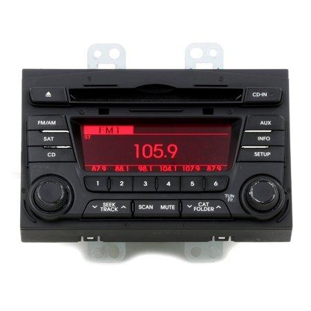 2011-2013 Kia Optima EX LX SX AM FM CD XM OEM Stereo Part Number 96170-2T651CA - (2013 Kia Optima Sx T Gdi Specs)