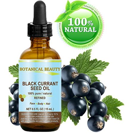 Botanical Beauty: Black Currant Seed Oil - 100% Natural for Skin Hair & Lip