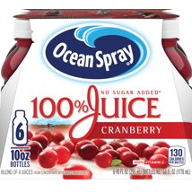 Juice Boxes: Ocean Spray 100% Juice