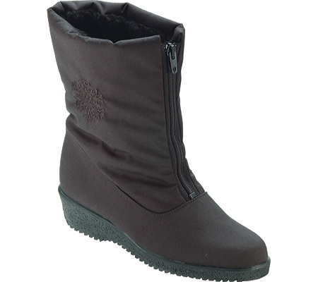 Toe Warmers Boots Women's Jennifer Mid Zip Boots Warmers in Black 2e5e47
