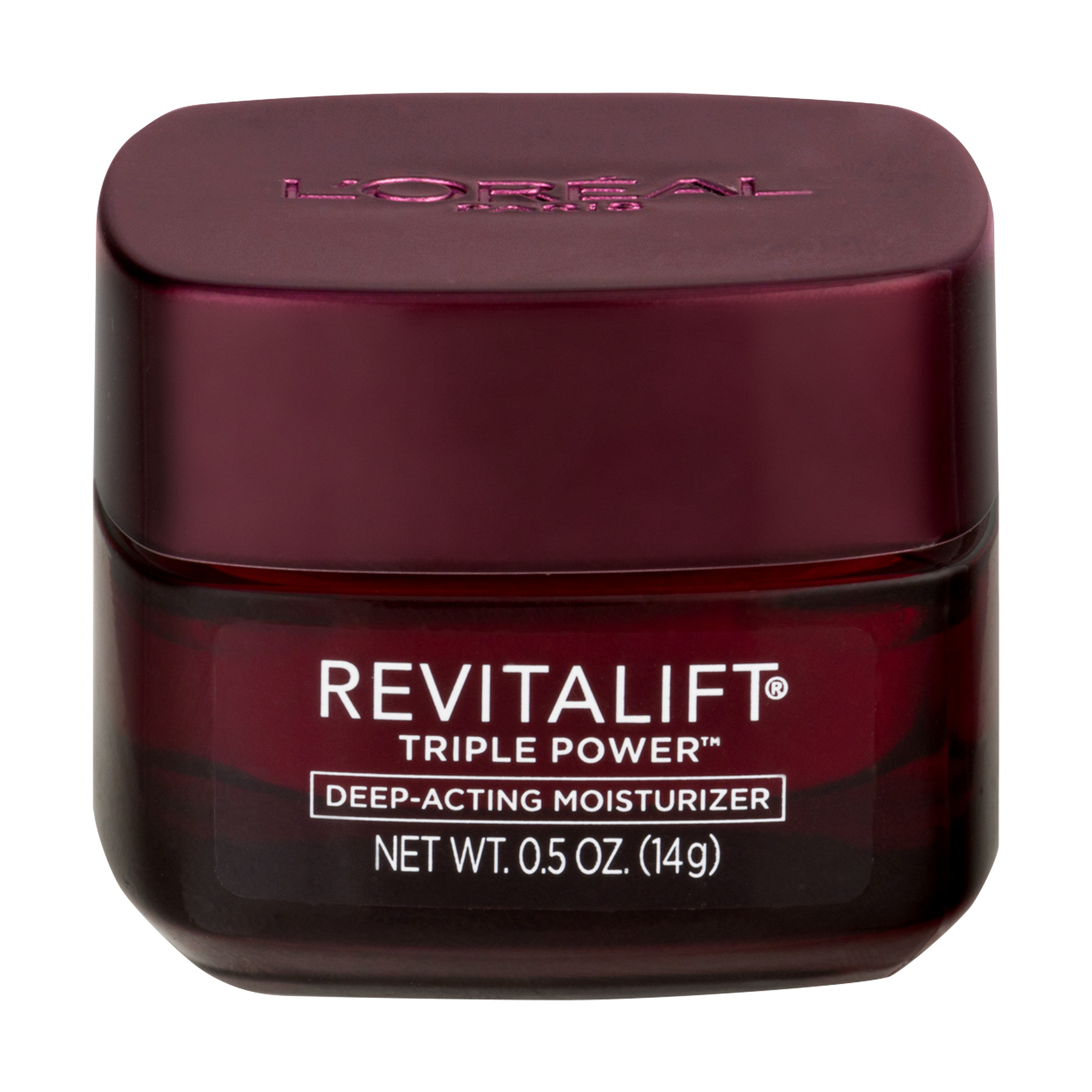 L'Oreal Paris Revitalift Triple Power Intensive Anti-Aging Day Cream Moisturizer, 0.5 oz