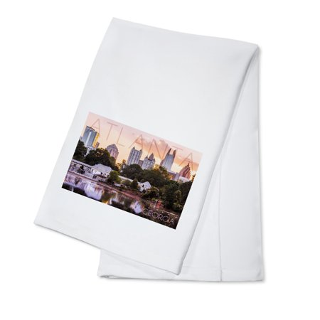 Atlanta  Georgia   Piedmont Park   Lantern Press Photography   100  Cotton Kitchen Towel