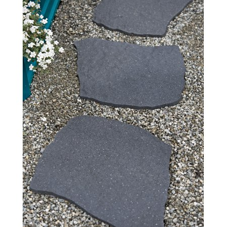 Recycled Rubber Flagstone Stepping - Rubber Rock