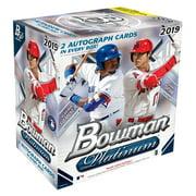 2019 Topps Bowman Platinum Baseball Monster Box- 2 Autographs per Box   100 Topps Bowman Baseball Trading Cards   Feat. Vladimir Guerrero Jr. & Shohei Ohtani