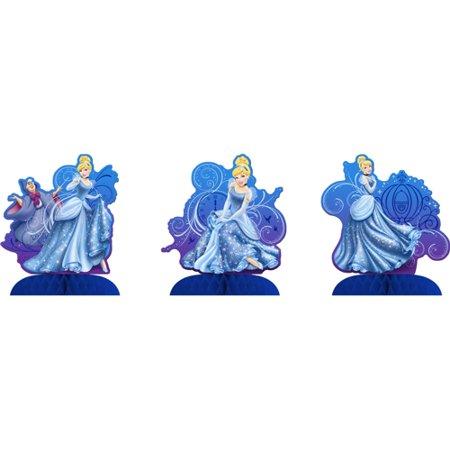 Cinderella Sparkle Centerpiece Package of 3