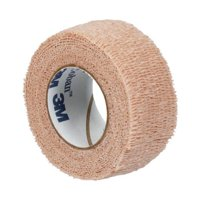 Coban Cohesive Bandage 1 Inch X 5 Yard Standard Compression Self-adherent Closure Tan NonSterile, 1581 - EACH