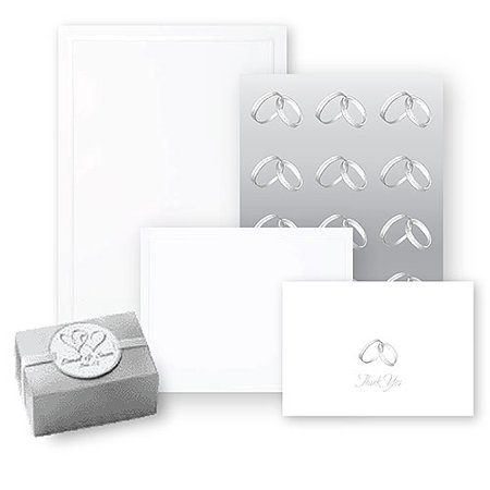 Wilton Pearl Border Wedding Invite Kit
