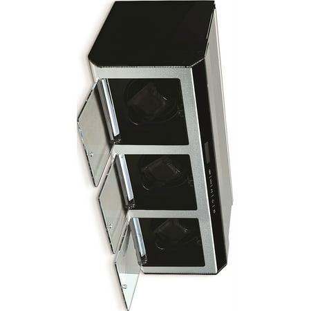 Argent M?tal et acrylique Triple Remontoir (15.3x7.4mm) - image 1 de 1