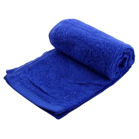 Outdoor Soft Travel Swimming Hiking Camping Absorbent Quick Drying Towel Blue - Swim Poncho Towel