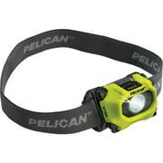 Pelican 027500-0101-247 193-Lumen 2750 LED Adjustable Headlight, Yellow