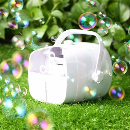 1byone Portable Automatic Bubble Machine 2 Speeds High Output for Kids DJ Party](Fog Bubble Machine)