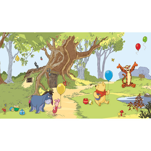 RoomMates Pooh and Friends XL Wall Mural