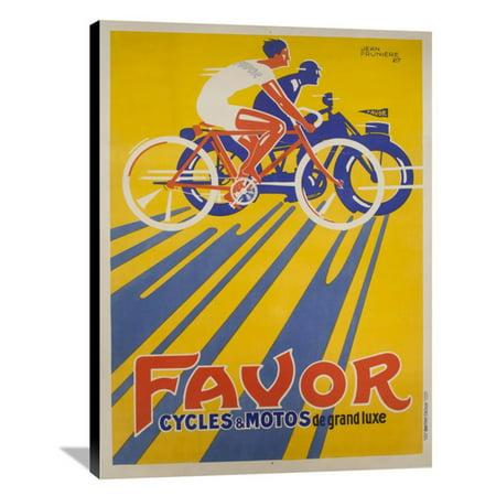 Global Gallery Favor Cycles Et Motos 1927 Wall Art
