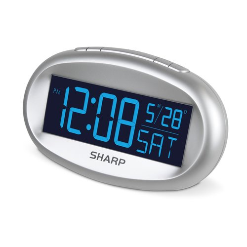 Sharp Automatic Time-Setting Clock