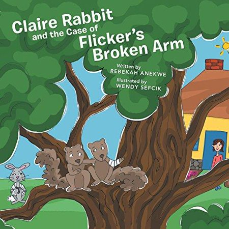 Claire Rabbit And The Case Of Flickers Broken Arm