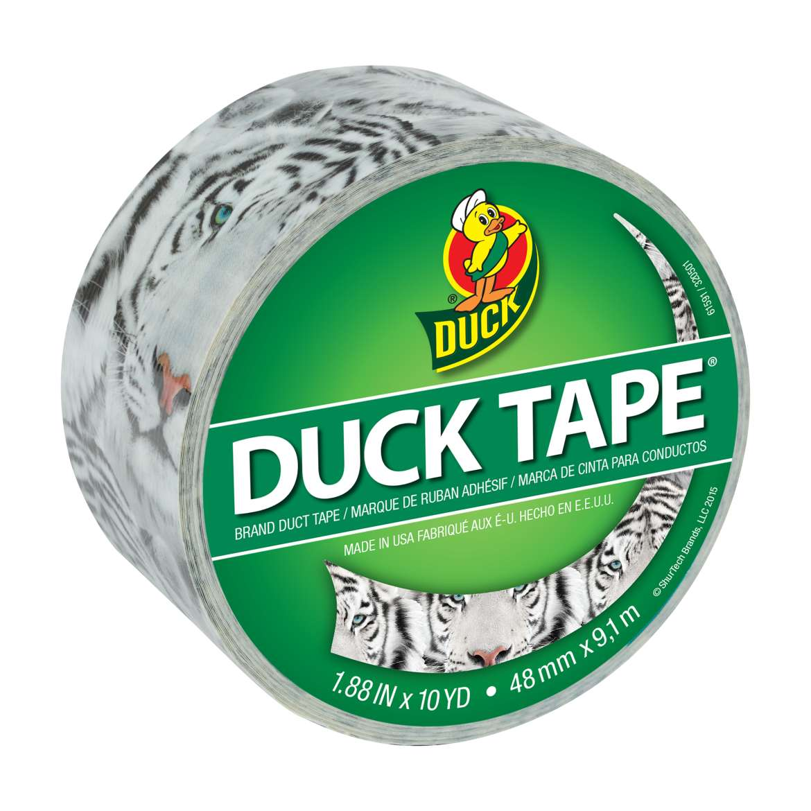 Printed Duck Tape Brand Duct Tape - Roar, 1.88 in. x 10 yd.